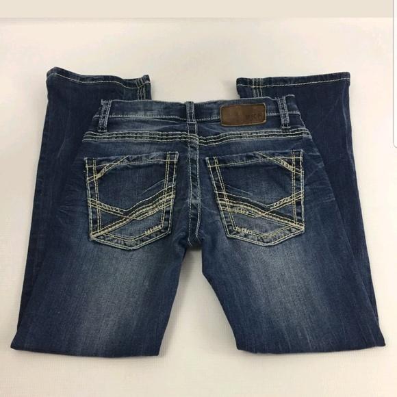 8cb71764 BKE Bottoms | Boys Mens Buckle Aiden Boot Cut Jeans 26 X 25 | Poshmark